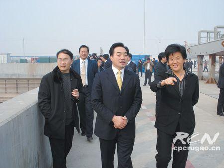 如东县党政代表团来我市参观考察 高度评价我市经济社会发展成就