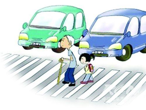 大家都知道,斑马线是城市道路的生命线,机动车礼让行人是文明驾车的