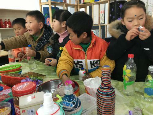 高新区实验幼儿园举办幼儿创意作品展