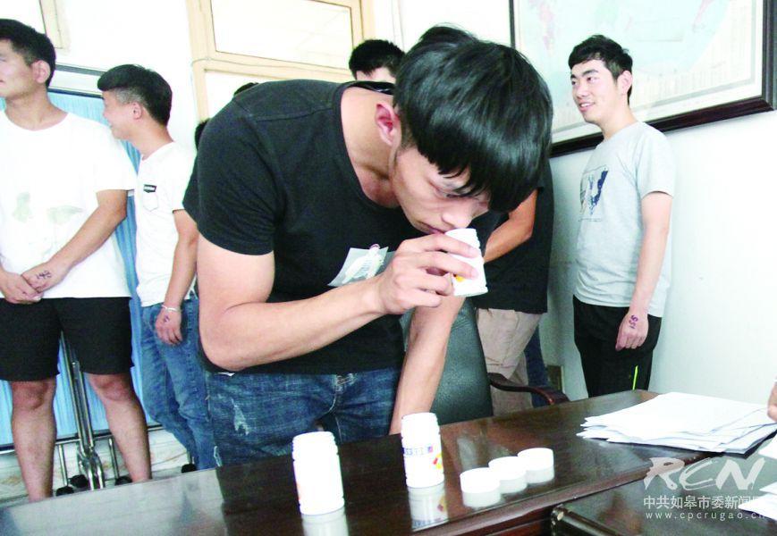 应征青年嗅觉测试