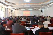 市委老干部局召开全市老干部党组织书记会议