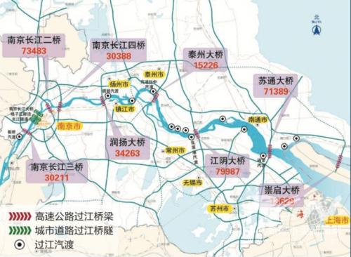 """江苏高速之""""最"""" 南京高速公路最""""密"""""""