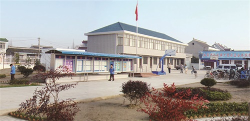 标准化建设的村(社区)公共服务中心1