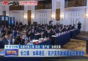 """深度对接上海 实现""""港产城""""协调发展:长江镇(如皋港区)在沪发布新城建设招商规划"""