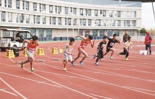 南通市青少年田径赛在如举行
