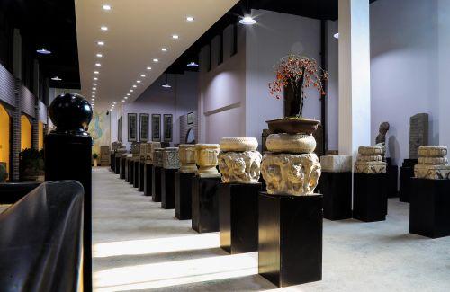 古石雕主题展馆