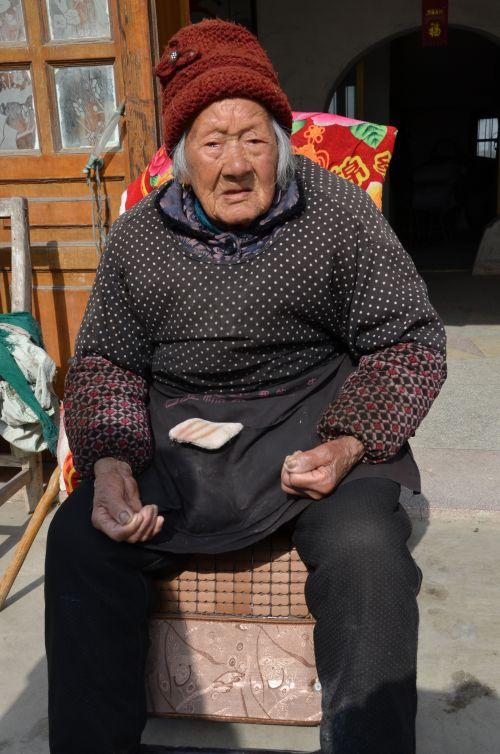 孙文英 107岁 长江镇义圩居9组