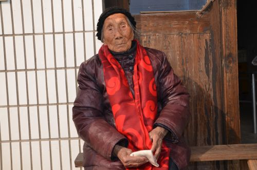 宗徐氏 107岁 白蒲镇 斜庄12组