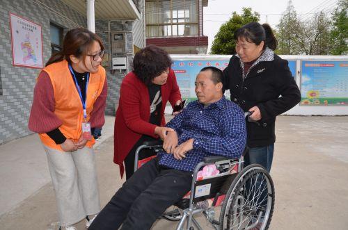 1  残疾老人住进村(社区)居家养老服务站