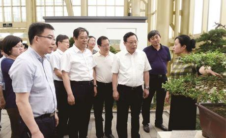 徐惠民来如调研时要求深入推进生态优先绿色发展