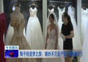 陶子的追梦之旅:婚纱不只是产品 更承载着梦想