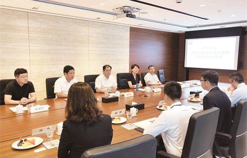 陈晓东率队赴香港柬埔寨开展经贸活动