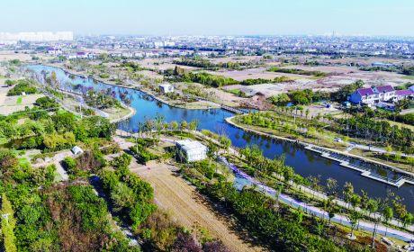 茅雉河位于城区东部区域 二期工程将实施惠政路至汪平路段的河道开挖 今年年底前实施到位