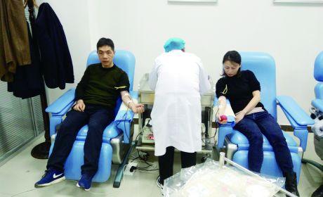 义务献血献爱心