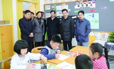 南通市副市长徐新民来如调研社会事业发展情况