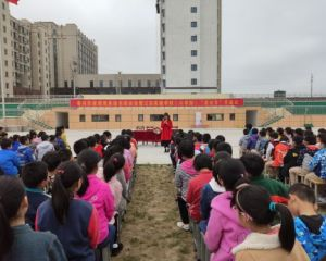 著名作家韩青辰走进江安实验学校小学部