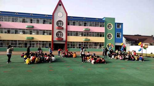 搬经镇阳光幼儿园开展防火应急疏散演练