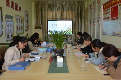 南通市幼儿园课程游戏化项目视导工作组走进高新区桃园幼儿园 (1)