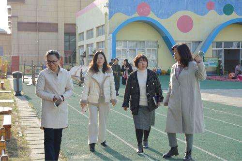 南通市幼儿园课程游戏化项目视导工作组走进高新区桃园幼儿园 (5)