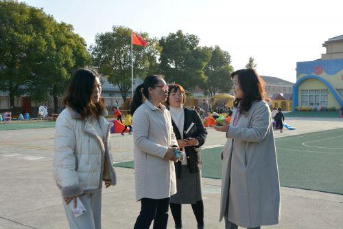 南通市幼儿园课程游戏化项目视导工作组走进高新区桃园幼儿园 (7)
