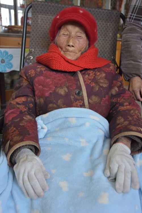 18 磨头镇高庄社区  程廷芳  107岁