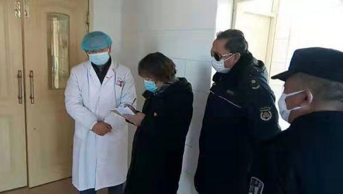 金志华督查高井医学隔离点落实疫情防控措施情况
