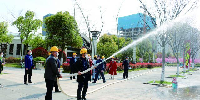 市园林管理处开展消防安全知识培训和消