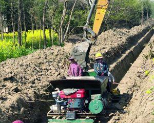 下原鎮花園頭村對村內6條道路進行改造提升