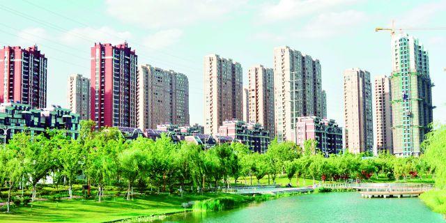 河道生态美 城市颜值高