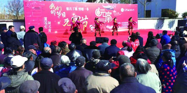 """红桥村举行""""元宵节·我们的节日""""主题"""