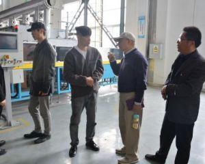 江苏省国际科技交流合作中心特聘专家、省科创学院院长黎怡杭来如调研